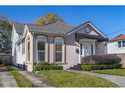 New Orleans Single Family Home For Sale: 3822 Octavia Street