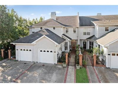Metairie Townhouse For Sale: 1902 Khan Drive