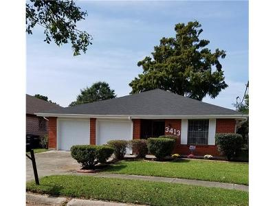 Kenner Single Family Home For Sale: 3413 Maine Avenue