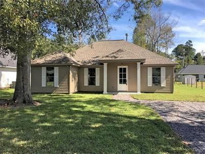Single Family Home For Sale: 66120 Cypress Street
