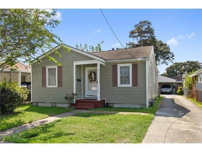 Gretna Single Family Home For Sale: 2118 Stafford Street