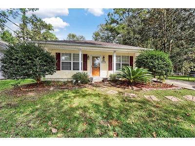 Slidell Single Family Home For Sale: 34103 Live Oak Lane