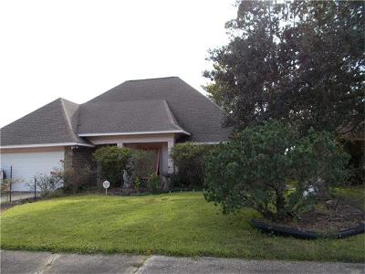 Slidell Single Family Home For Sale: 1816 Admiral Nelson Drive