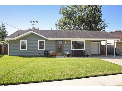 Westwego Single Family Home For Sale: 133 Felicia Drive