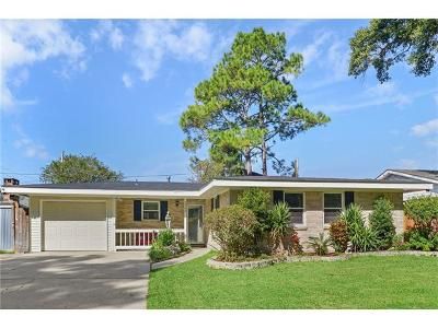 Kenner Single Family Home For Sale: 2303 Kansas Avenue