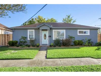 New Orleans Single Family Home For Sale: 3276 Frey Place