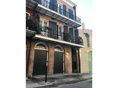 New Orleans Condo For Sale: 528 Dumaine Street #7