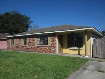 Marrero Single Family Home For Sale: 2524 Wyoming Drive