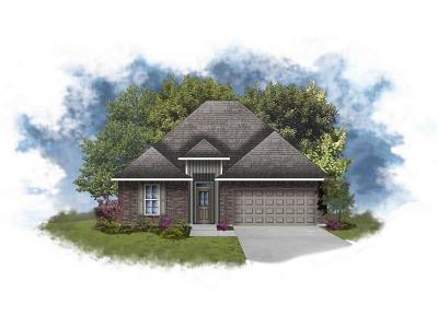 Marrero Single Family Home For Sale: 6990 Spanish Moss Lane