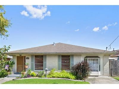 Metairie Single Family Home For Sale: 2909 Lemon Street