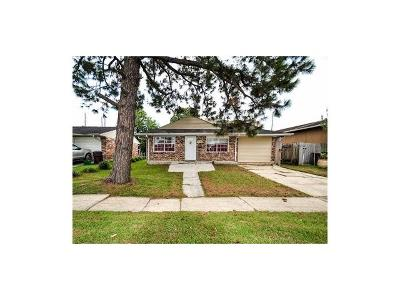Kenner Single Family Home For Sale: 3548 W Loyola Drive