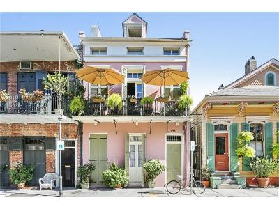 New Orleans Condo For Sale: 935 Barracks Street #3