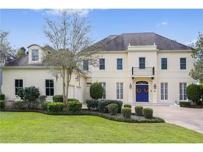 New Orleans Single Family Home For Sale: 69 English Turn Drive