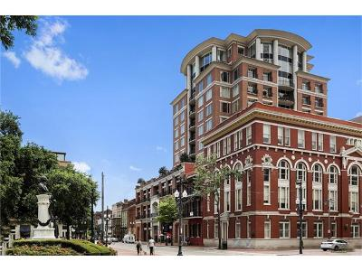 New Orleans Condo For Sale: 625 St Charles Street #10C