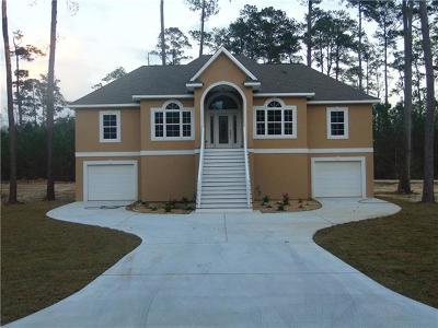 Slidell Single Family Home For Sale: 1007 Brandon Drive