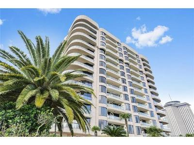 New Orleans Condo For Sale: 600 Port Of New Orleans Place #GB