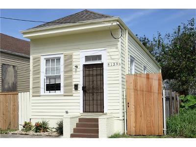 New Orleans Single Family Home For Sale: 6139 Chartres Street