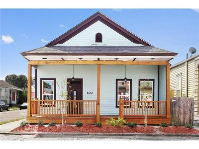 New Orleans Single Family Home For Sale: 2300 Magnolia Street
