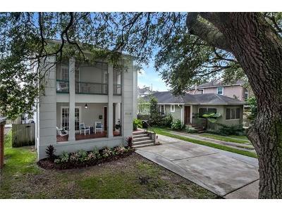 New Orleans Single Family Home For Sale: 2019 Audubon Street