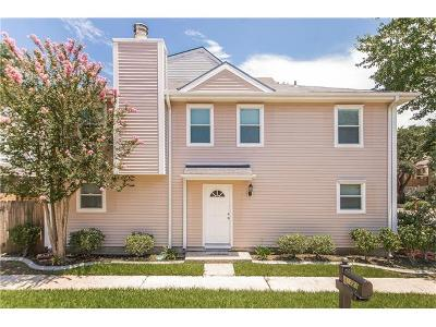 Metairie Townhouse For Sale: 1721 Old Metairie Street