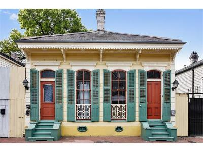 New Orleans Single Family Home For Sale: 918 St Peter Street