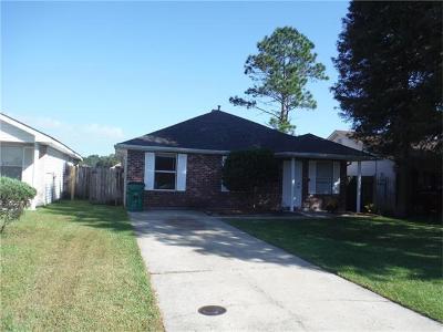 Marrero Single Family Home For Sale: 5932 S Oak Drive