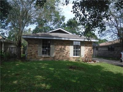 Marrero Single Family Home For Sale: 5448 Faith Drive