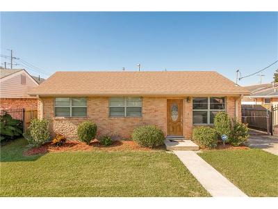 New Orleans Single Family Home For Sale: 10709 Curran Boulevard