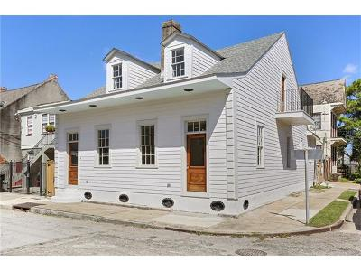 New Orleans Single Family Home For Sale: 1601 Saint Ann Street