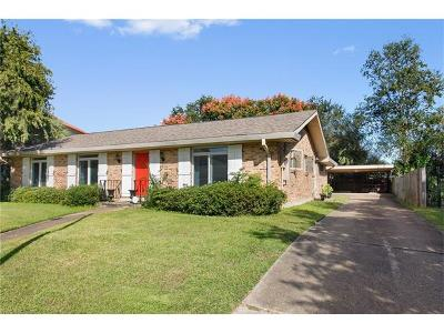 New Orleans Single Family Home For Sale: 6209 Perlita Drive