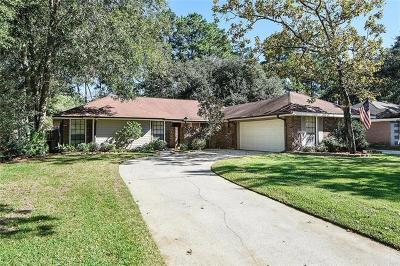 Slidell Single Family Home For Sale: 510 Bradford Drive