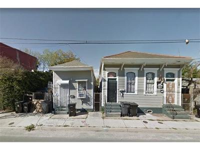 New Orleans Single Family Home For Sale: 3013-17 Chartres Street