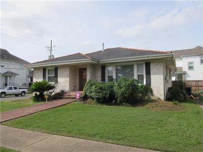 New Orleans Single Family Home For Sale: 7000 Vicksburg Street