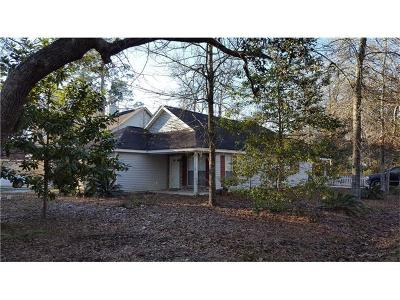 Slidell Single Family Home For Sale: 34050 Reilly Road