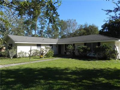 Slidell Single Family Home For Sale: 319 Country Club Boulevard