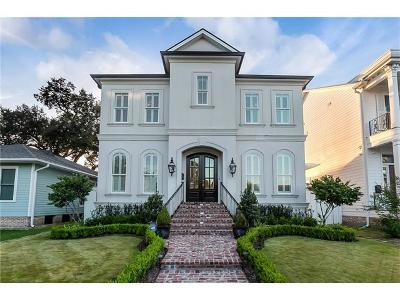 New Orleans LA Single Family Home For Sale: $829,000