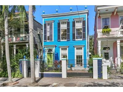 New Orleans Single Family Home For Sale: 723 Esplanade Avenue