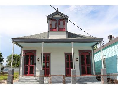 New Orleans Single Family Home For Sale: 3147 Urquhart Street