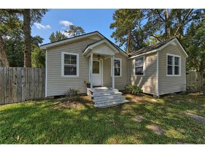 Slidell Single Family Home For Sale: 1933 5th Street
