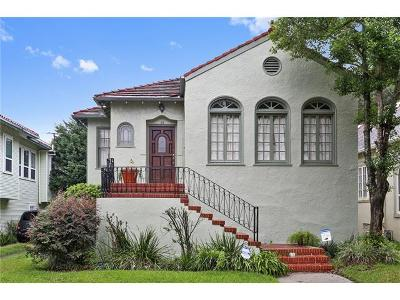 New Orleans Single Family Home For Sale: 65 Versailles Boulevard