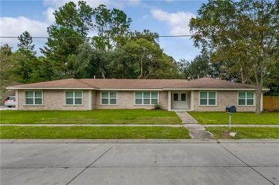 Slidell Single Family Home For Sale: 198 Audubon Drive