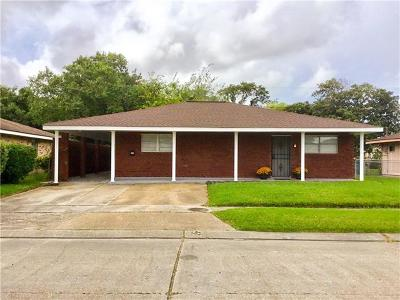 Marrero Single Family Home For Sale: 1638 Lincoln Avenue