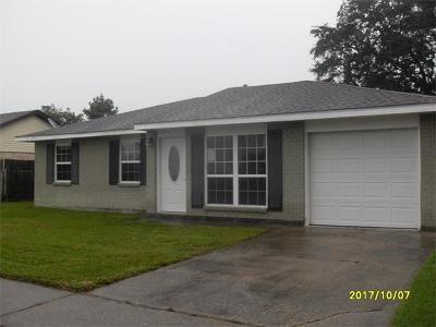 Marrero Single Family Home For Sale: 5149 Mount Jura Court