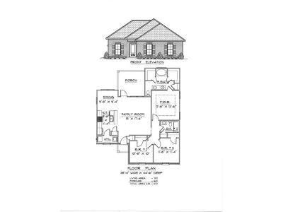 Slidell Single Family Home For Sale: 2016 Teal Street
