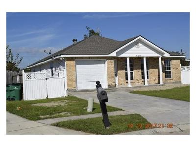 Westwego Single Family Home For Sale: 9109 S Chante Court