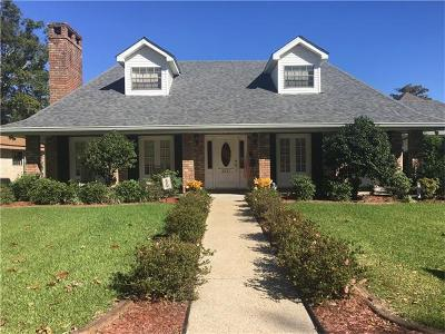 Marrero Single Family Home For Sale: 2237 Barton Drive