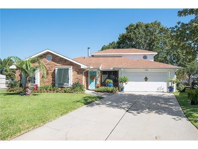 Slidell Single Family Home For Sale: 126 Columbia Place