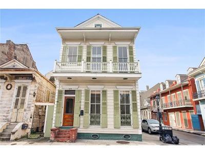 New Orleans Single Family Home For Sale: 742 Barracks Street