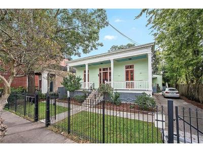 New Orleans Single Family Home For Sale: 3314 Carondelet Street