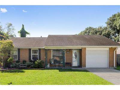 Westwego Single Family Home Pending Continue to Show: 149 Valentine Drive